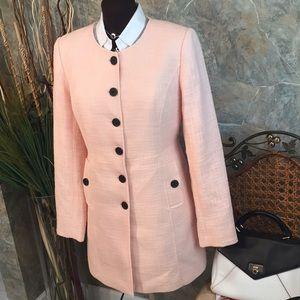 Karl lagerfield 🌹 Stunning peach pink jacket coat